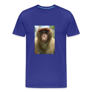 Proboscis Monkey - Men's Premium T-Shirt