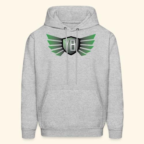 YBshield w/ wingsOrange - Men's Hoodie