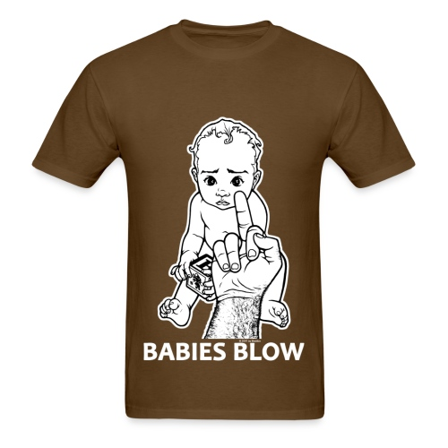 Babies Blow - Men's T-Shirt