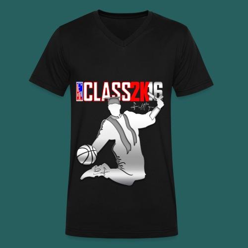 NBA 2k16 - Men's V-Neck T-Shirt by Canvas
