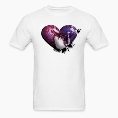 splatter heart T-Shirts