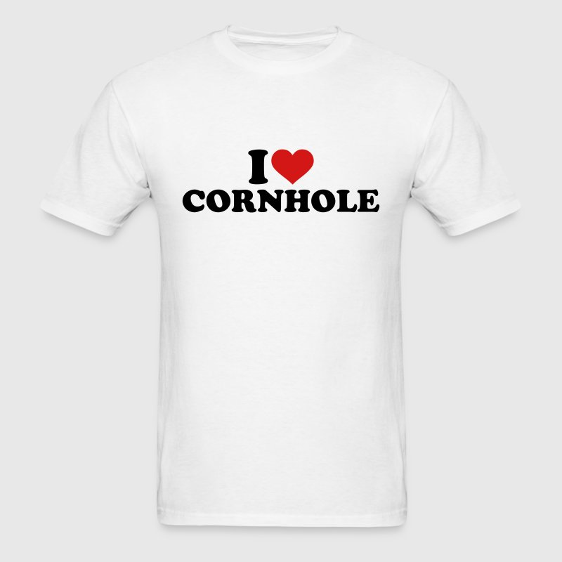 I love Cornhole T-Shirts - Men's T-Shirt