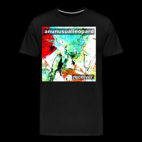 Receiver EP Cover Art Tshirt (male fit) - Men's Premium T-Shirt