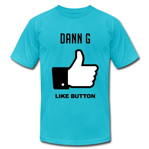 LIKE BUTTON - Men's Fine Jersey T-Shirt