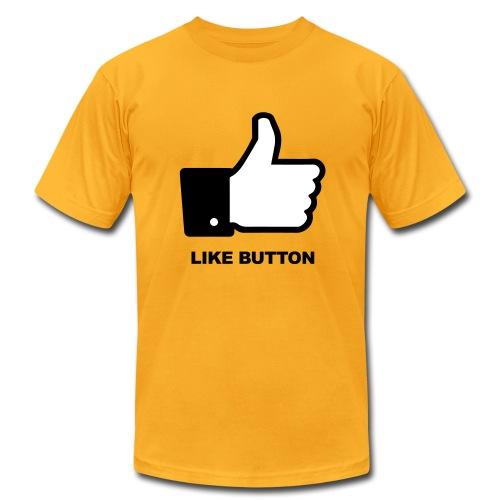 LIKE BUTTON - Men's Fine Jersey T-Shirt