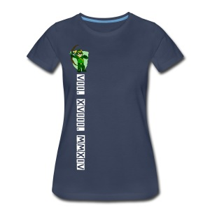 First Middle Base Tee - Women - Women's Premium T-Shirt