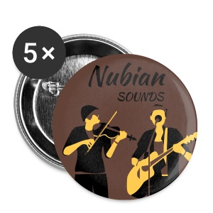 Nubian Sounds Illustrated Buttons - Small Buttons