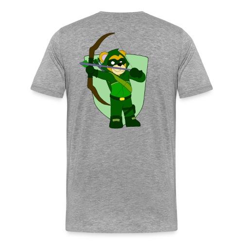 Ollie's Arrow Bow/Arrow Patch - Men's Premium T-Shirt