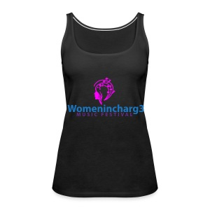 Womenincharg3 Music Festival T-Shirt - Women's Premium Tank Top