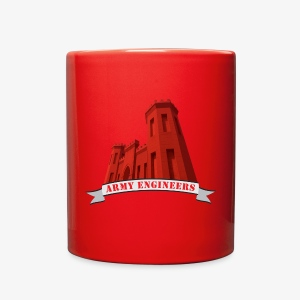 Army Engineers Mugs & Drinkware - Full Color Mug