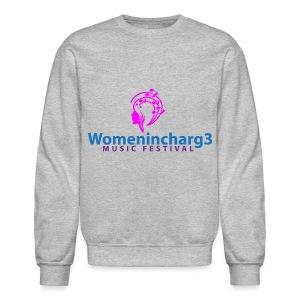 Womenincharg3 Music Festival Women Sweatshirt - Crewneck Sweatshirt