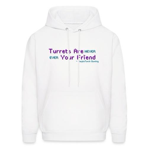 Turrets Men's Hoodie - Men's Hoodie