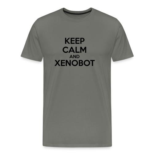 KEEP CALM XENOBOT DARK - Men's Premium T-Shirt