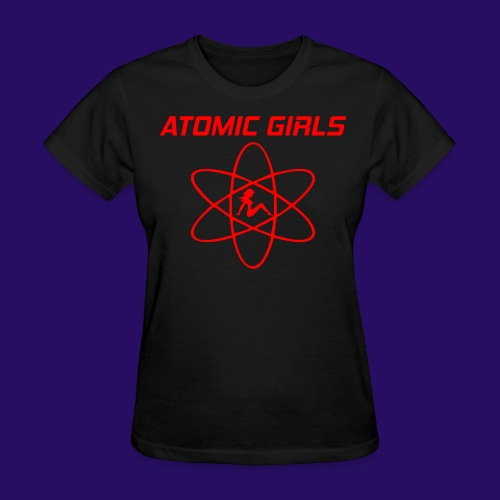Atomic Girls - Women's T-Shirt