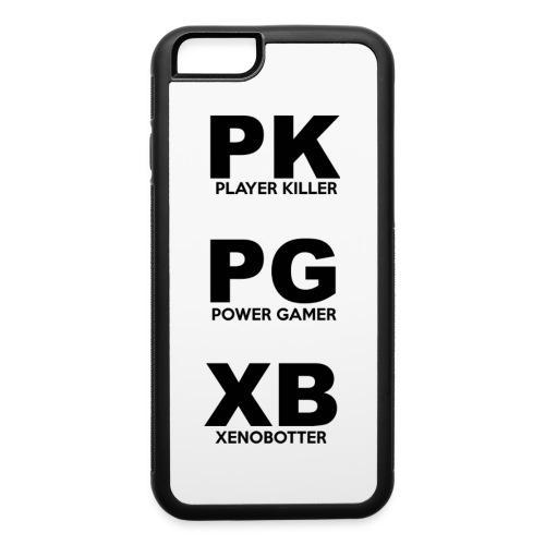 PK PG XB iPhone 6 - iPhone 6/6s Rubber Case