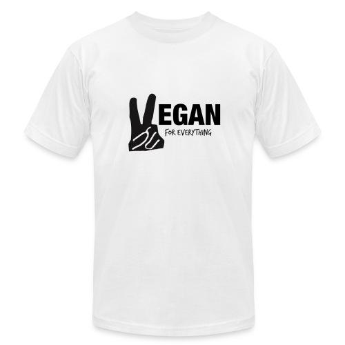 Vegan For Everything Men's T-shirt U.S. Made - Men's Fine Jersey T-Shirt