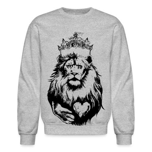 Crowned Lion - Crewneck Sweatshirt