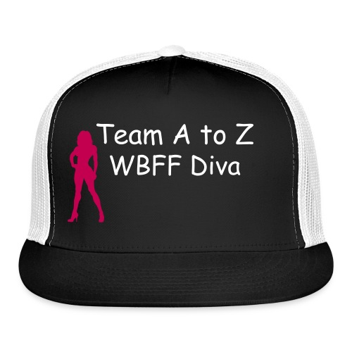 Team A to Z WBFF Diva Cap  - Trucker Cap