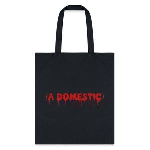 A Domestic - Glitter - Tote Bag - Tote Bag