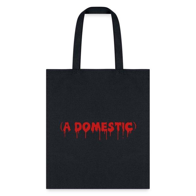 A Domestic - Glitter - Tote Bag