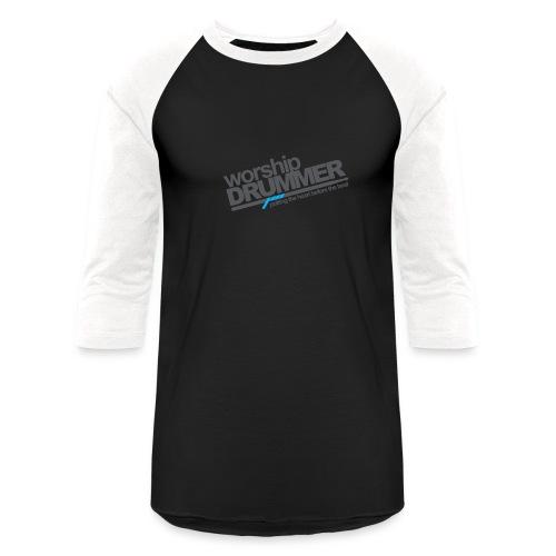 WorshipDrummer Baseball Tee (3/4) - Baseball T-Shirt