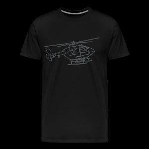 Helicopter - Men's Premium T-Shirt