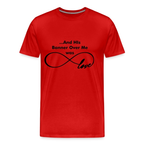 Love over me (PS) - Men's Premium T-Shirt