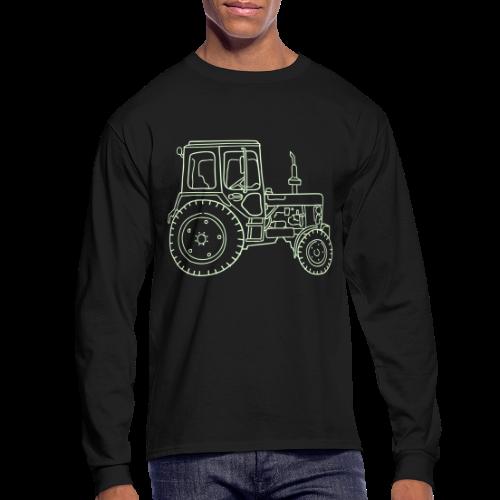 Tractor - Men's Long Sleeve T-Shirt