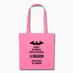 always be yourself dragon Bags & backpacks