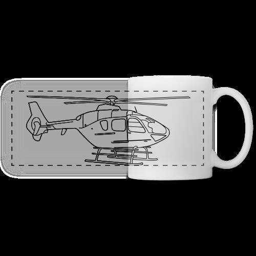 Helicopter - Panoramic Mug