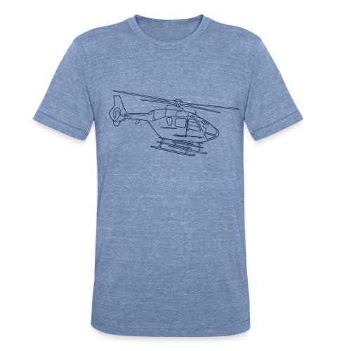 Helicopter - Unisex Tri-Blend T-Shirt