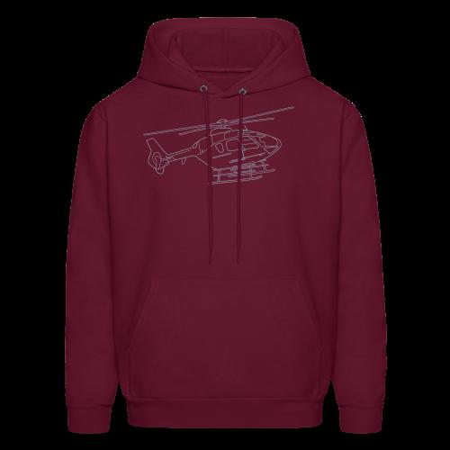Helicopter - Men's Hoodie