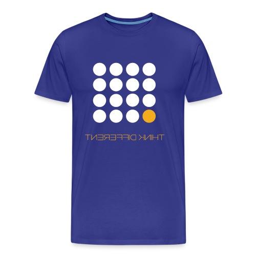 Think Different Bright Yellow - Men's Premium T-Shirt