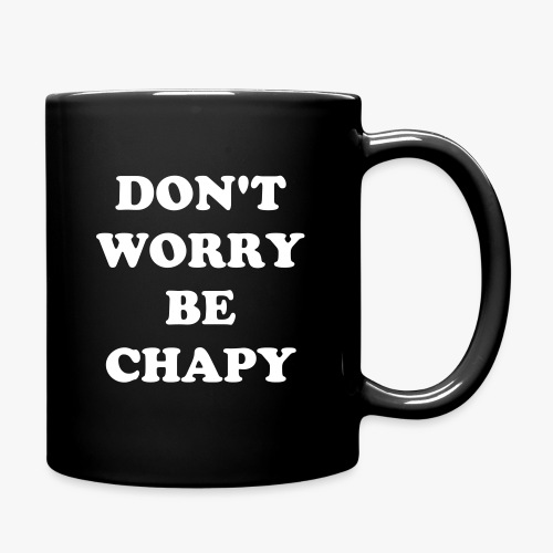 Two-Faced Coffee Mug with Selfie Design by Chapy - Full Color Mug