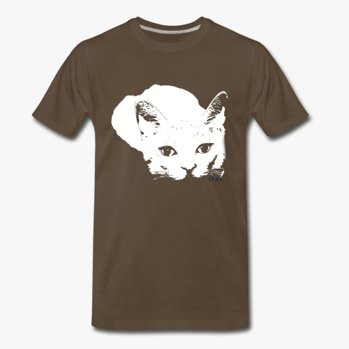Men's Premium T-Shirt with Sneaky Design by Chapy - Men's Premium T-Shirt
