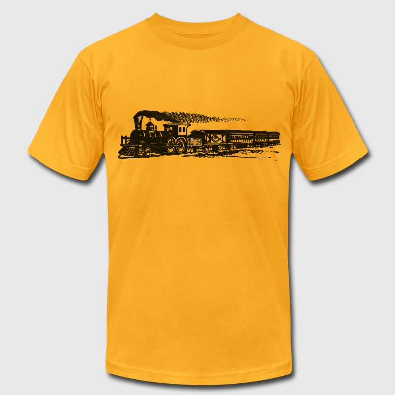 Sheldon Express - Men's T-Shirt by American Apparel