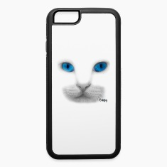 iPhone 6 Rubber Case with Blue Eyes Design by Chap