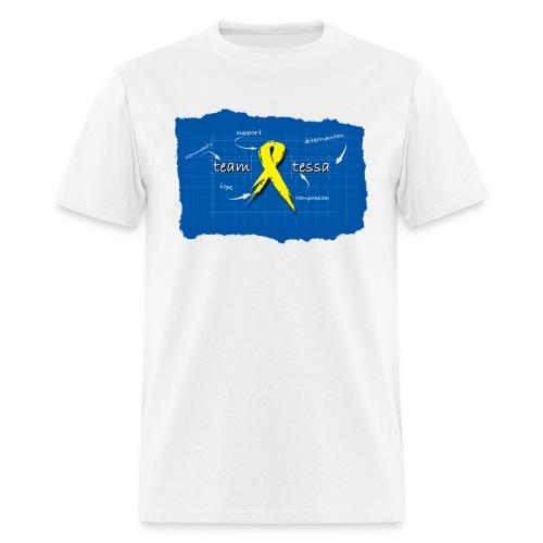 *NEW* TeamTessa Blueprint - Men's T-Shirt