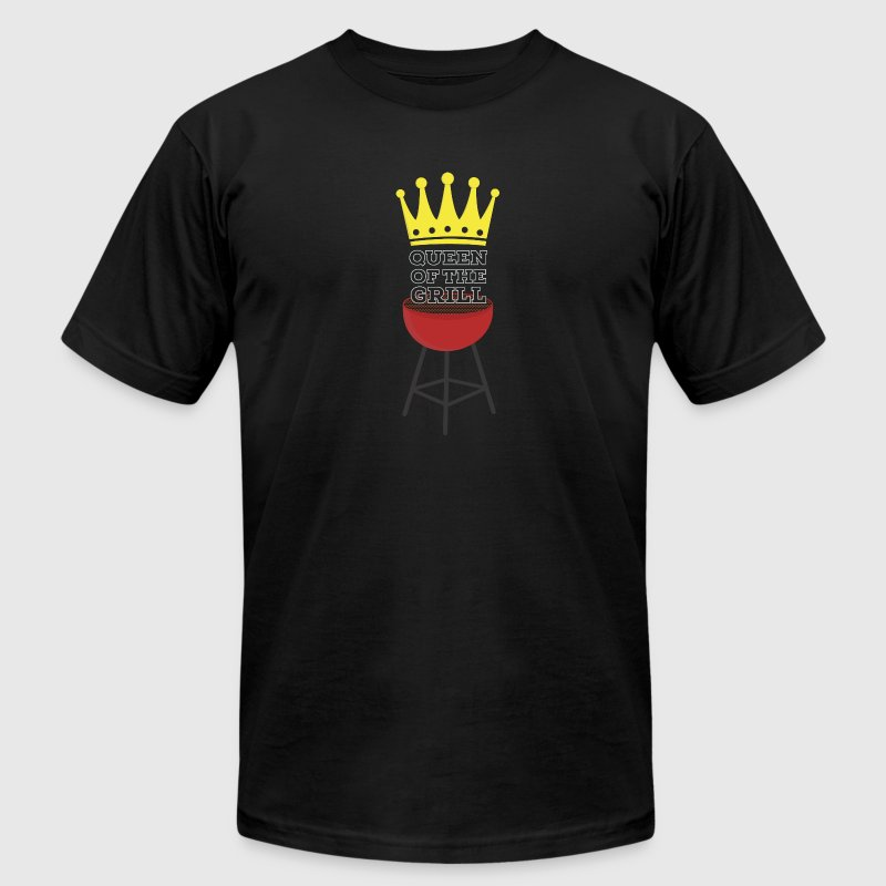 Queen of the grill T-Shirts - Men's T-Shirt by American Apparel