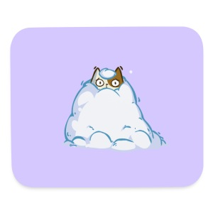 Snowcat — Friday Cat №40 - Mouse pad Horizontal