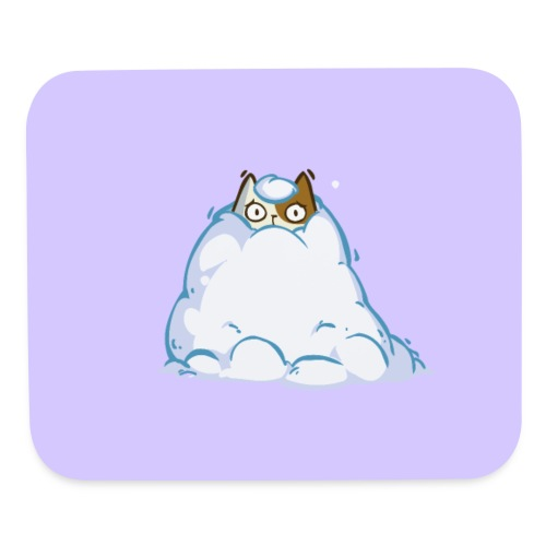 Snowcat — Friday Cat №40 - Mouse pad Horizontal