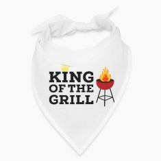King of the grill Caps