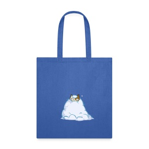 Snowcat — Friday Cat №40 - Tote Bag