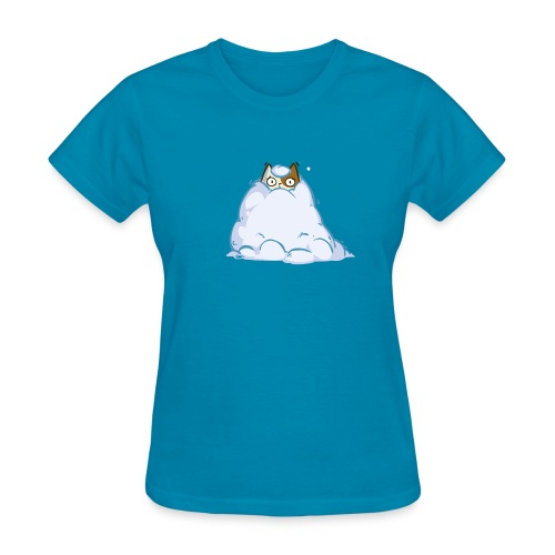 Snowcat — Friday Cat №40 - Women's T-Shirt