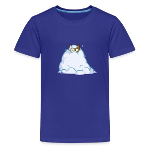 Snowcat — Friday Cat №40 - Kids' Premium T-Shirt