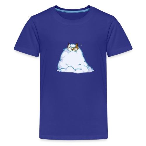 Snowcat — Friday Cat №40 - Kids' Premium T-Shirt