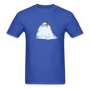 Snowcat — Friday Cat №40 - Men's T-Shirt