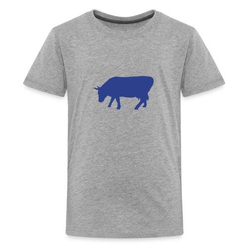 Kids' Premium T-Shirt (Royal Blue Cow) - Kids' Premium T-Shirt