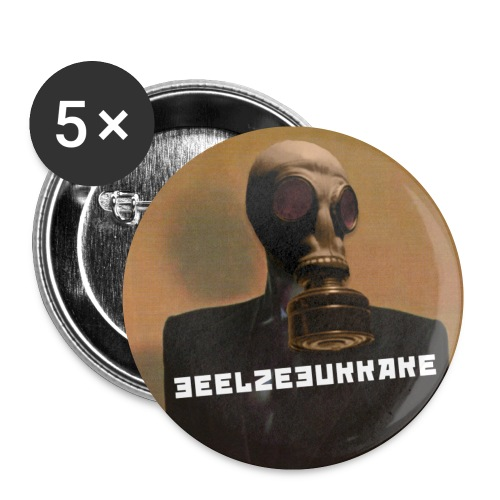 Jace Grones: Noiseclubbing Pin (Set of 5) - Small Buttons