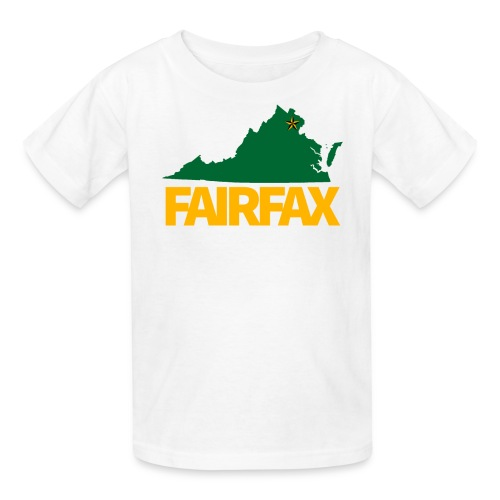 Green & Gold Fairfax - Kid's T-Shirt - Kids' T-Shirt